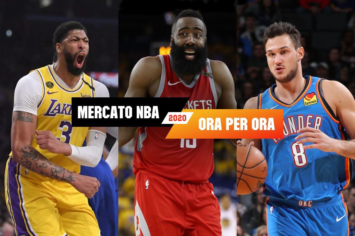 Il Mercato NBA 2020 in tempo reale