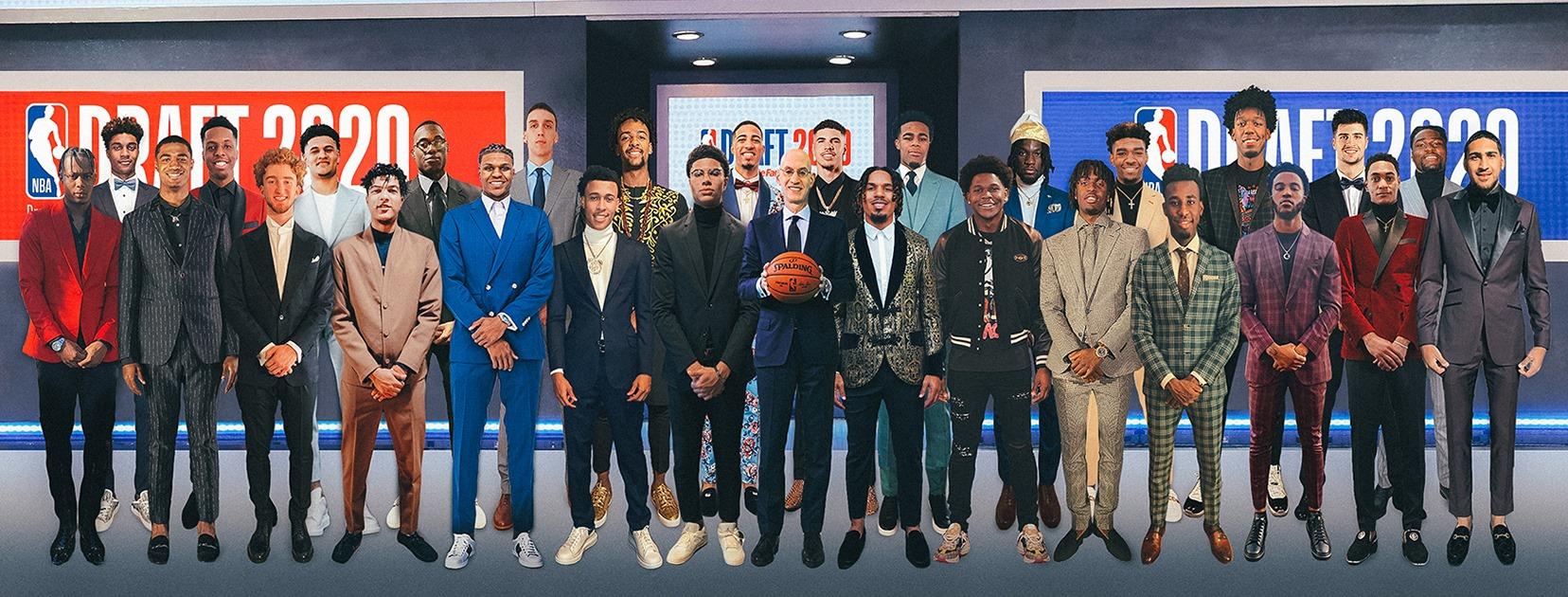Foto di rito NBA Draft 2020