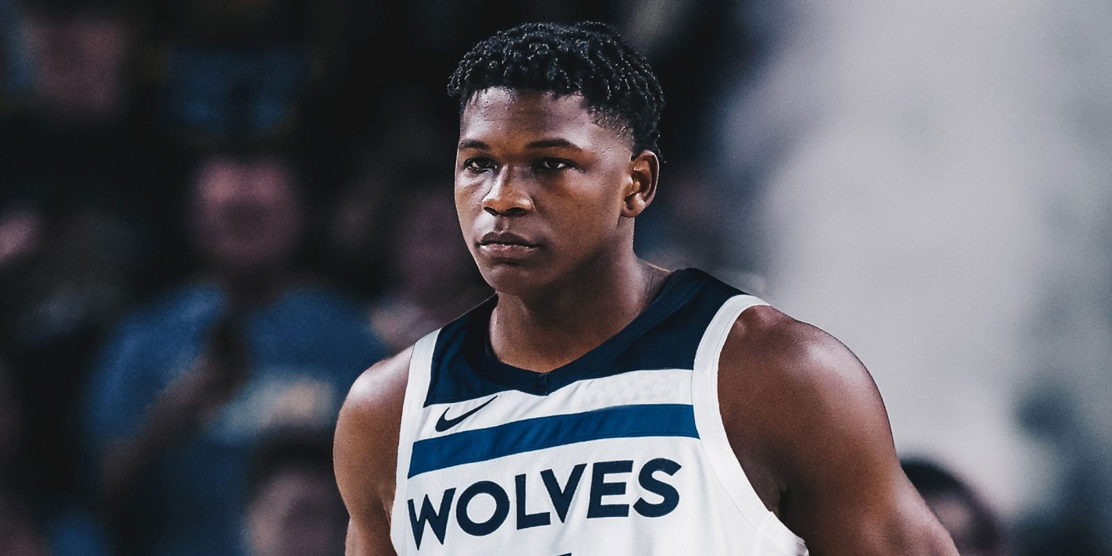 Edwards in maglia Timberwolves