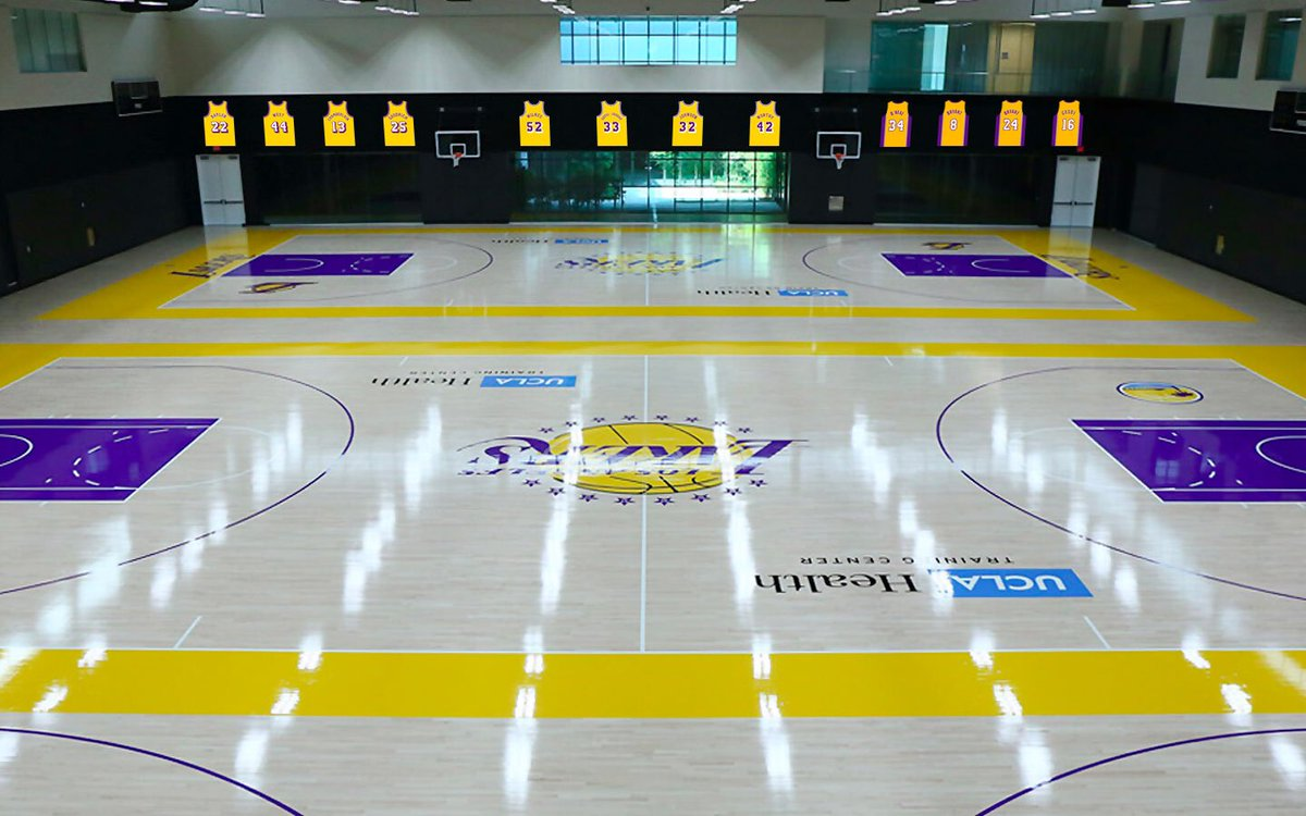 Lo UCLA Health Training Center dei Los Angeles Lakers