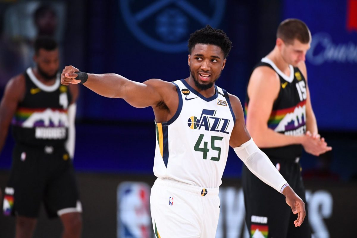 Donovan Mitchell nei playoff 2020