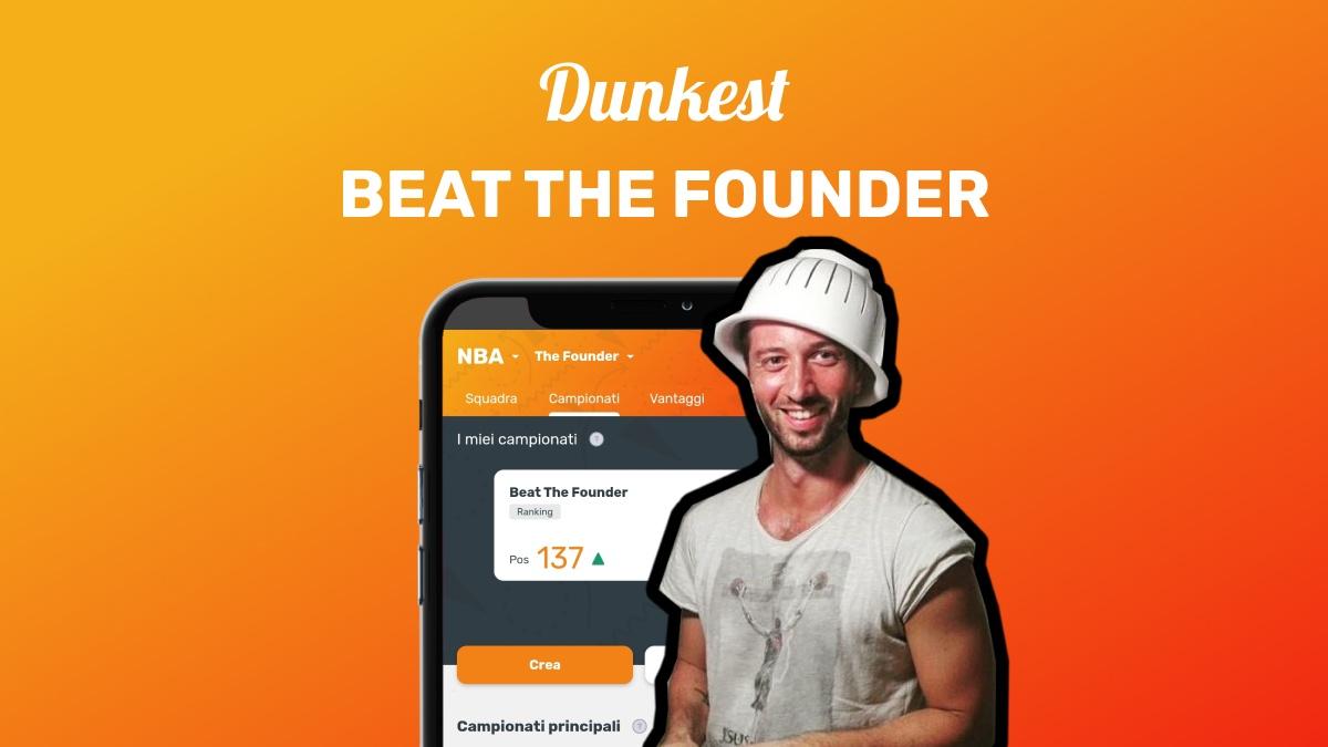 codice campionato dunkest beat the founder