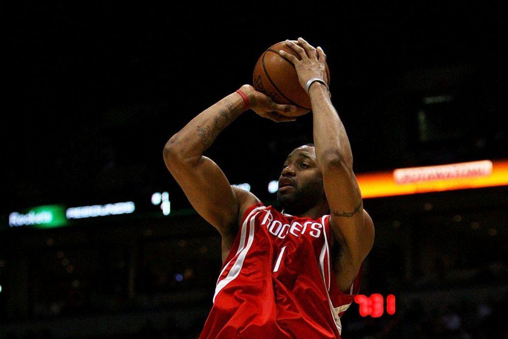 McGrady con la maglia dei Rockets