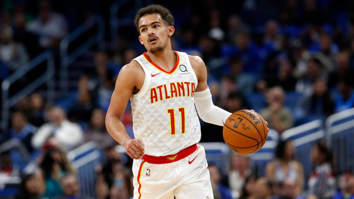 Trae Young conduce il gioco degli Atlanta Hawks