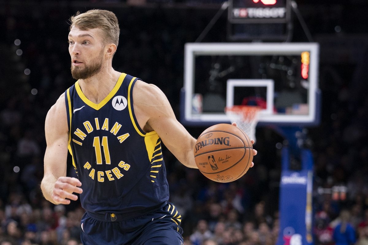 Sabonis in azione coi Pacers