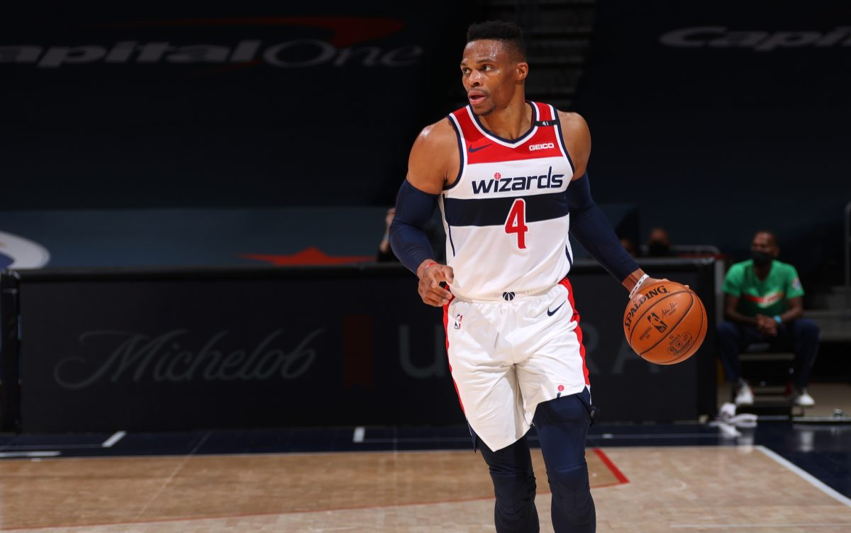 Westbrook in maglia Wizards