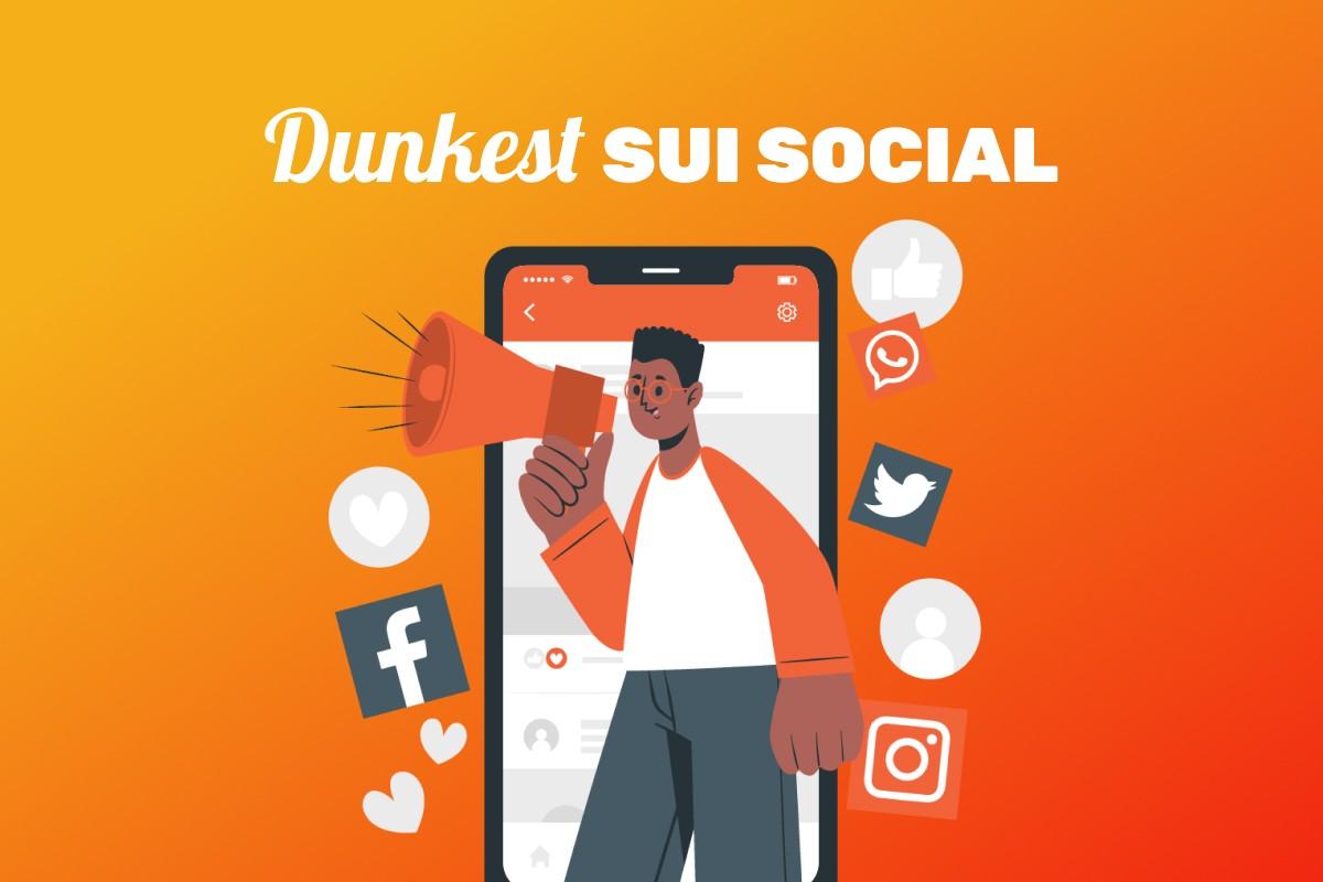 Dunkest social media