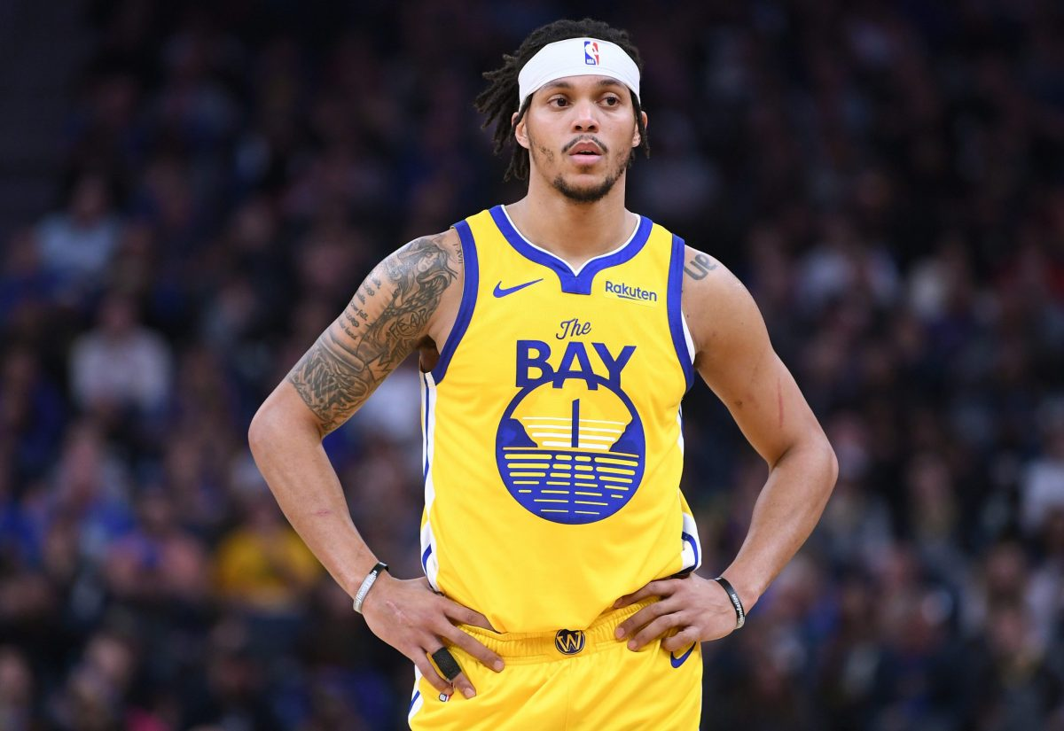 Damion Lee in maglia GSW
