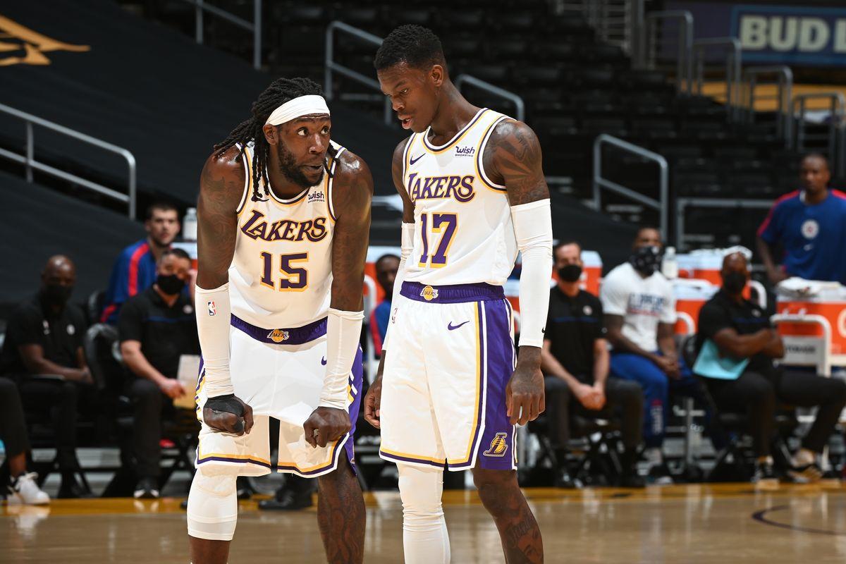 Harrell in maglia Lakers