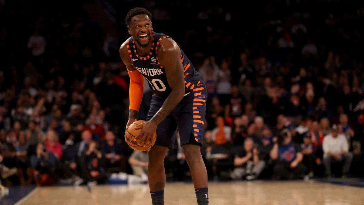Julius Randle in maglia Knicks