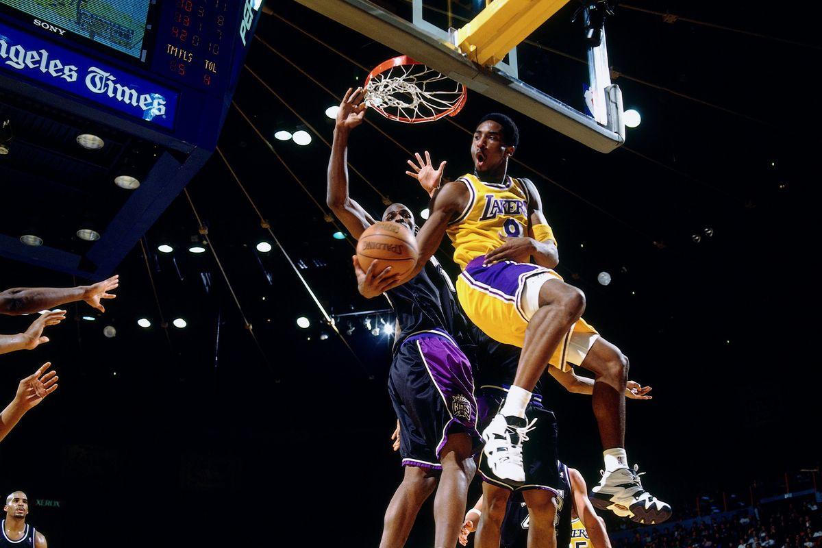 Kobe a canestro