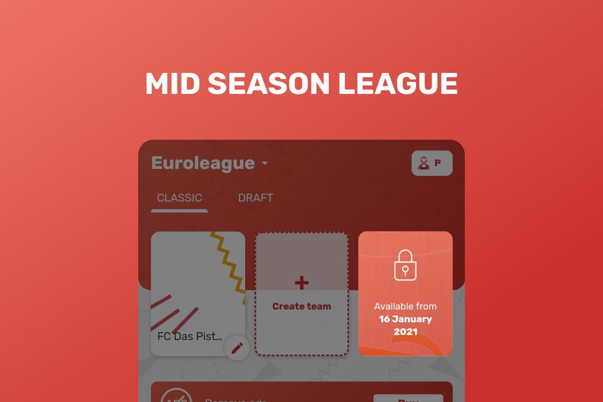 Mid season league euroleague
