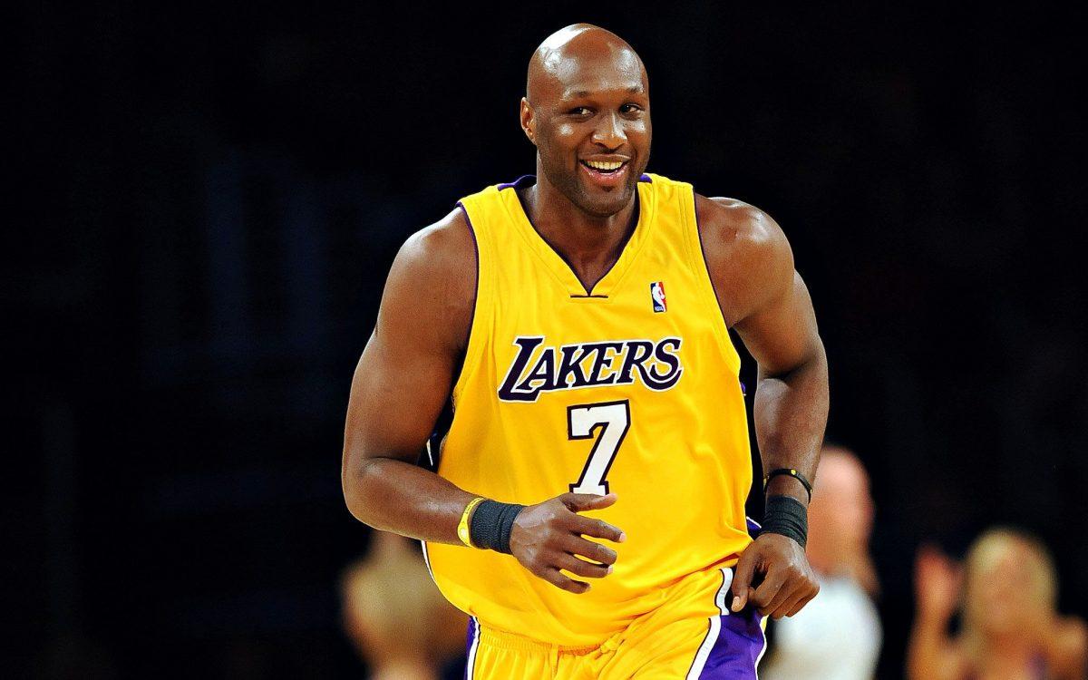 Lamar Odom con i Lakers