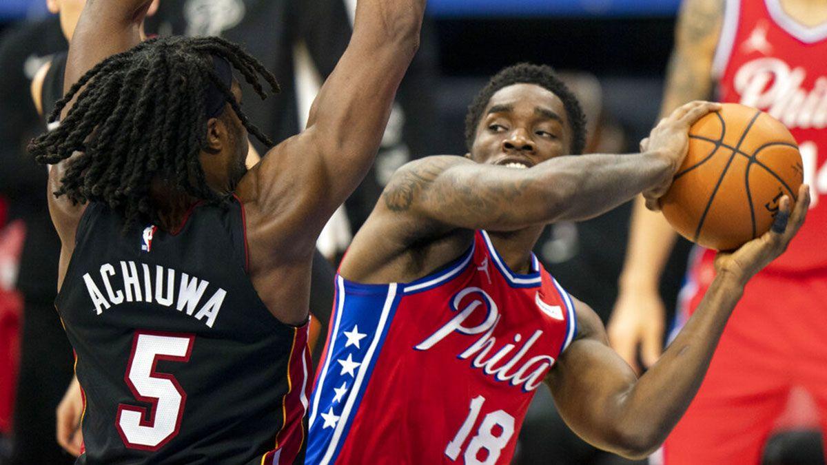 Shake Milton contro la difesa di Miami
