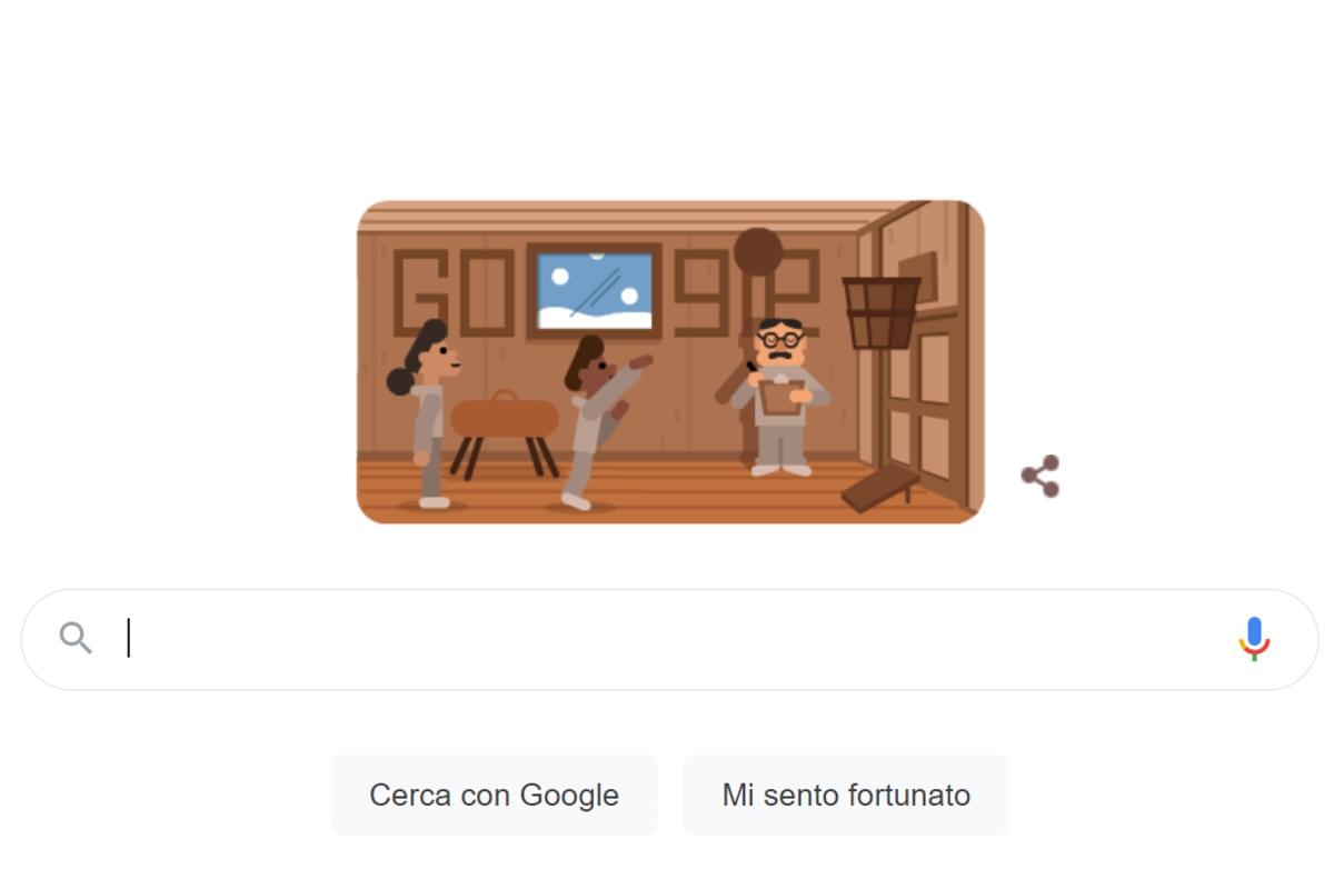 doodle google James Naismith