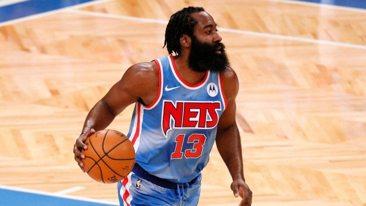 James Harden alla prima partita con i Brooklyn Nets