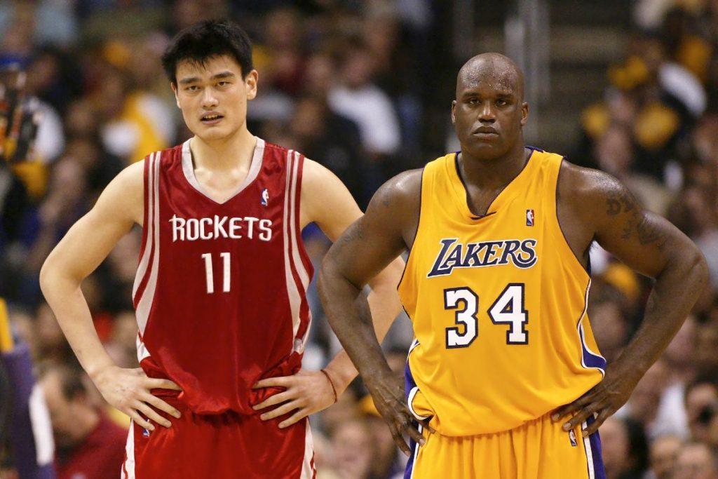 Yao Ming e Shaq