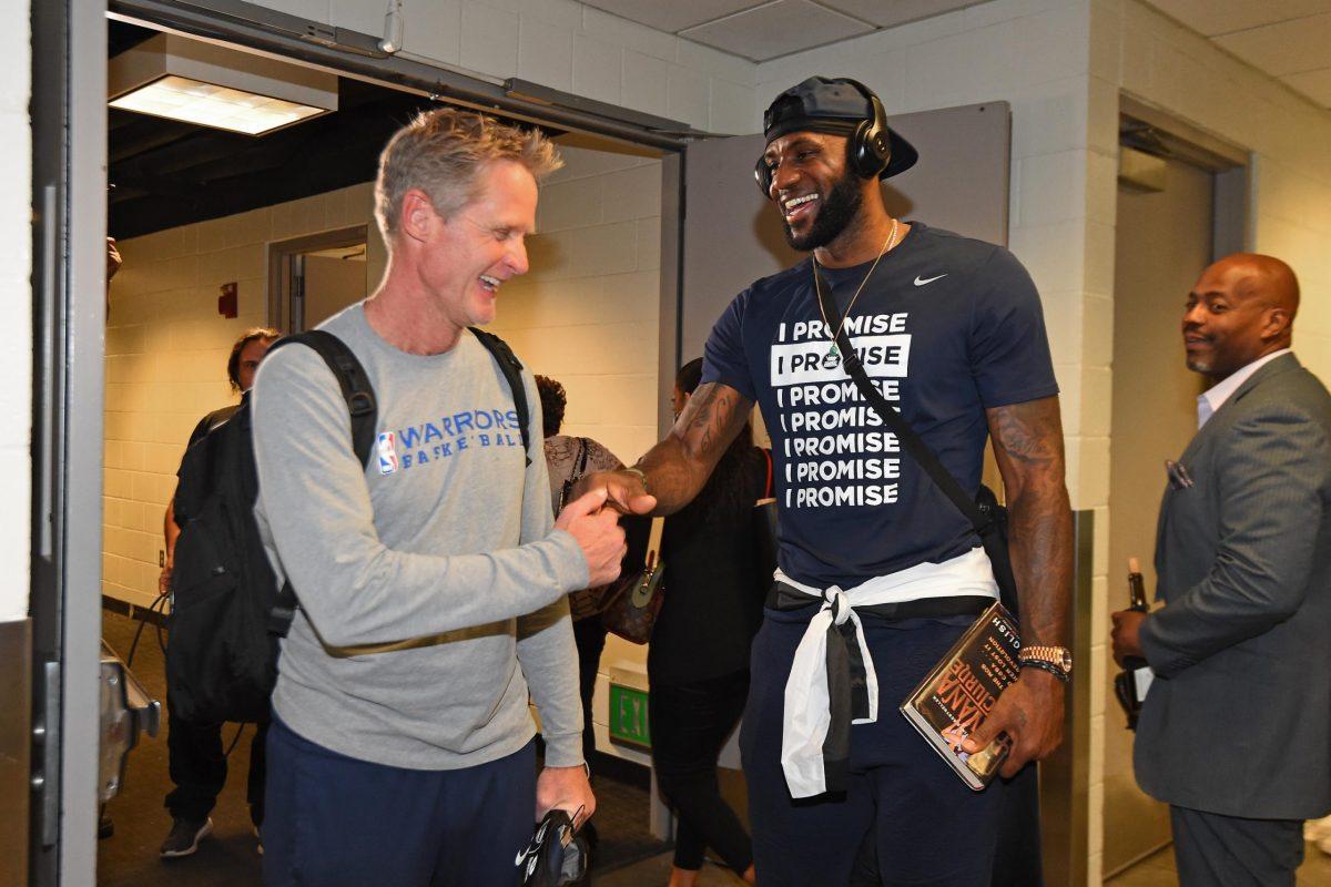 Steve Kerr e LeBron James