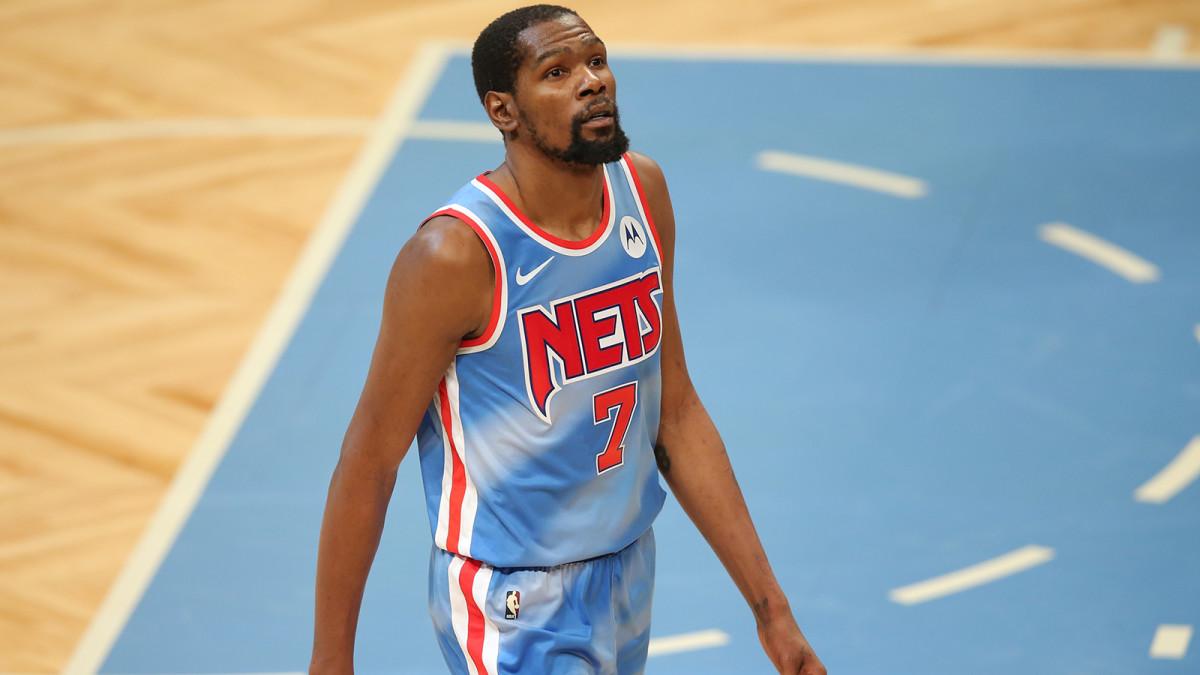 Kevin Durant coi Brooklyn Nets