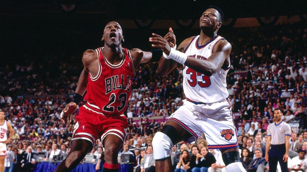 Michael Jordan e Patrick Ewing