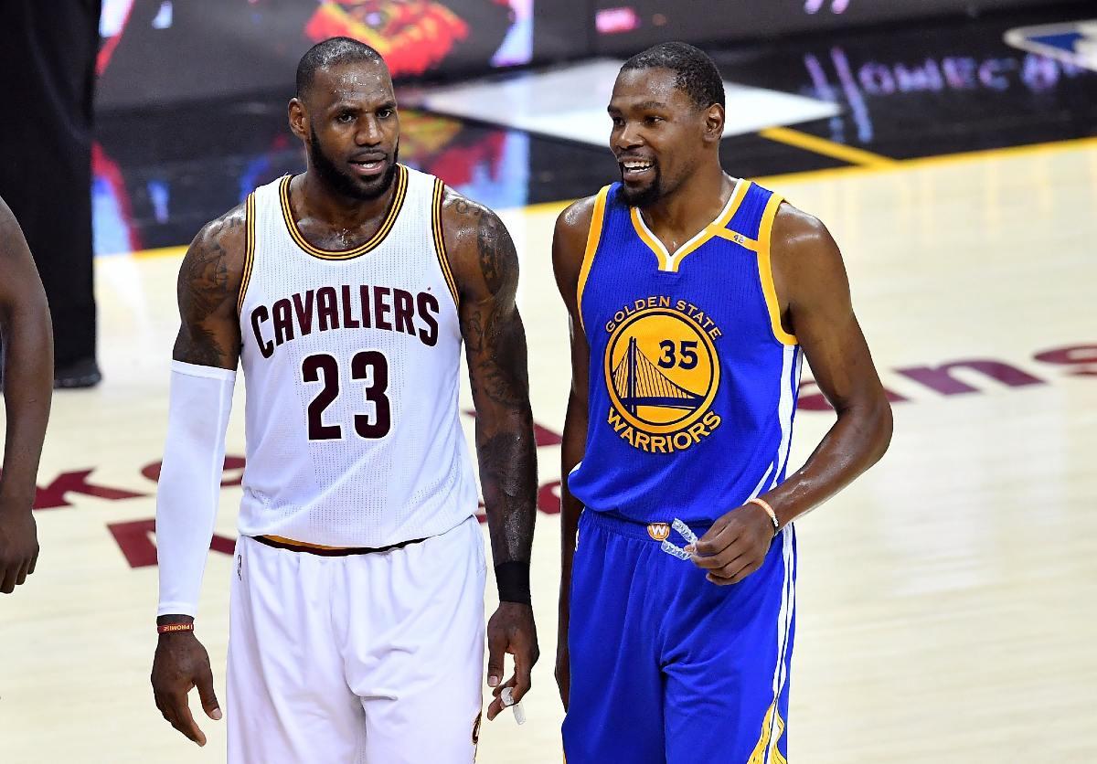 LerBron James e Kevin Durant