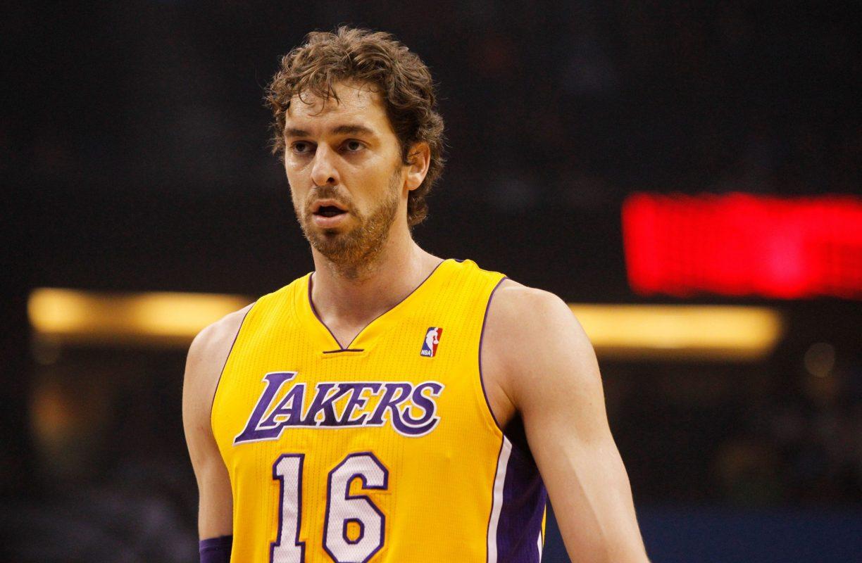 Gasol in maglia Lakers