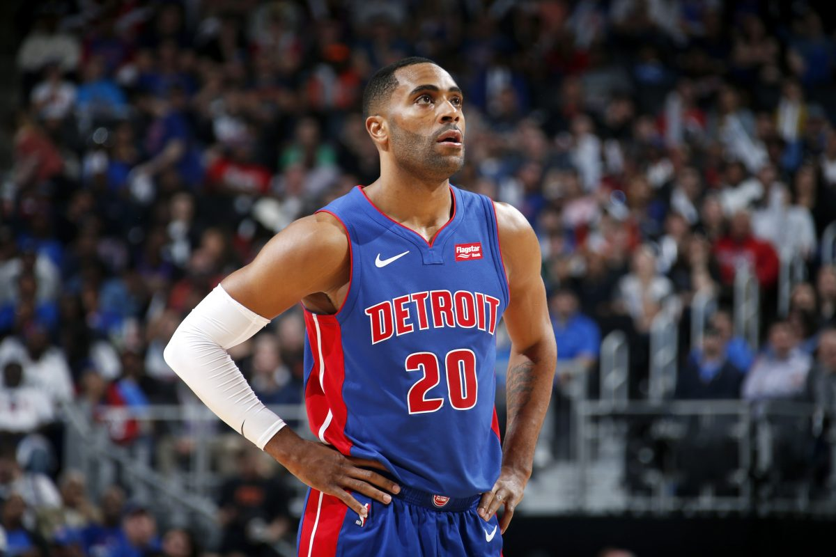 Wayne Ellington in maglia Pistons