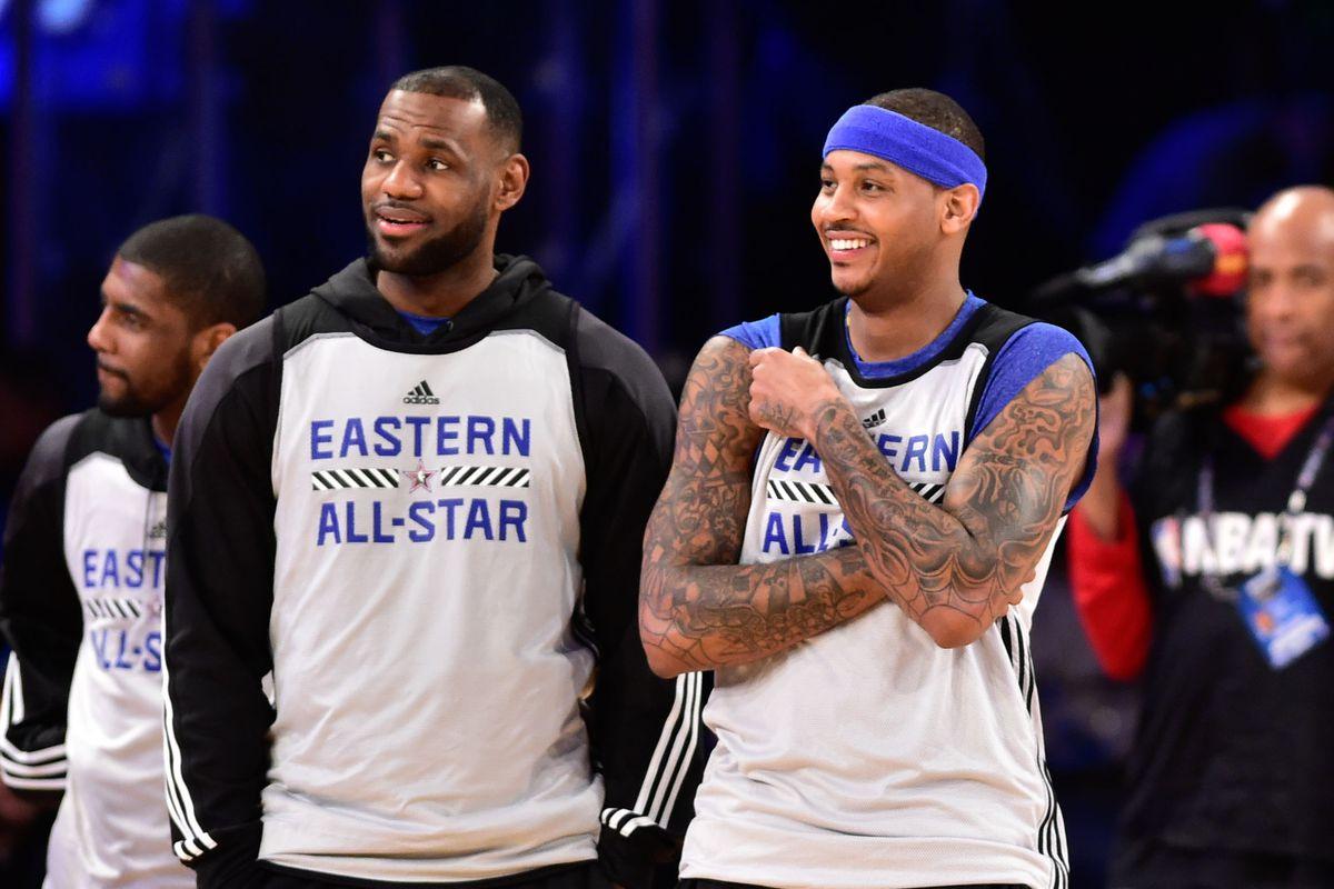Carmelo Anthony e LeBron James