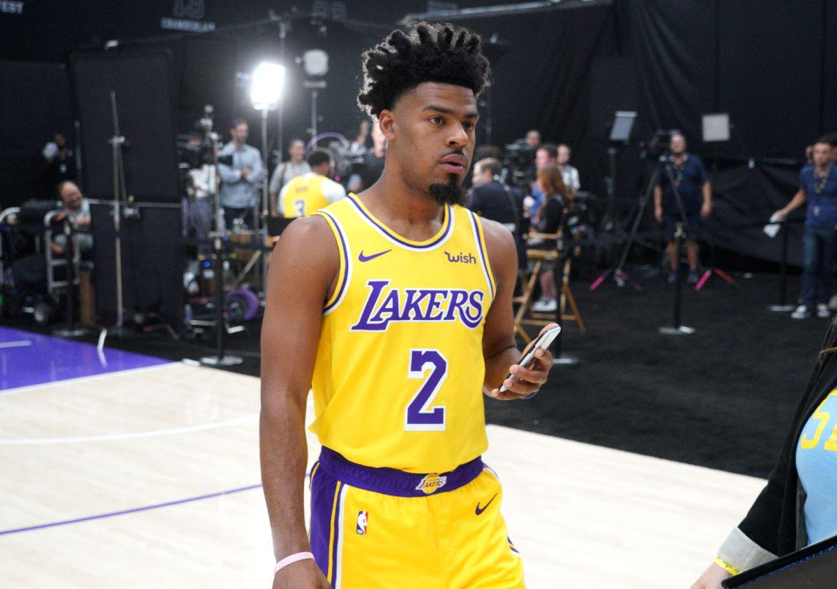 Cook al media day dei Lakers