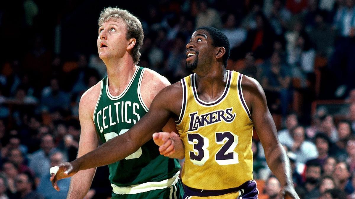 Larry Bird e Magic Johnson