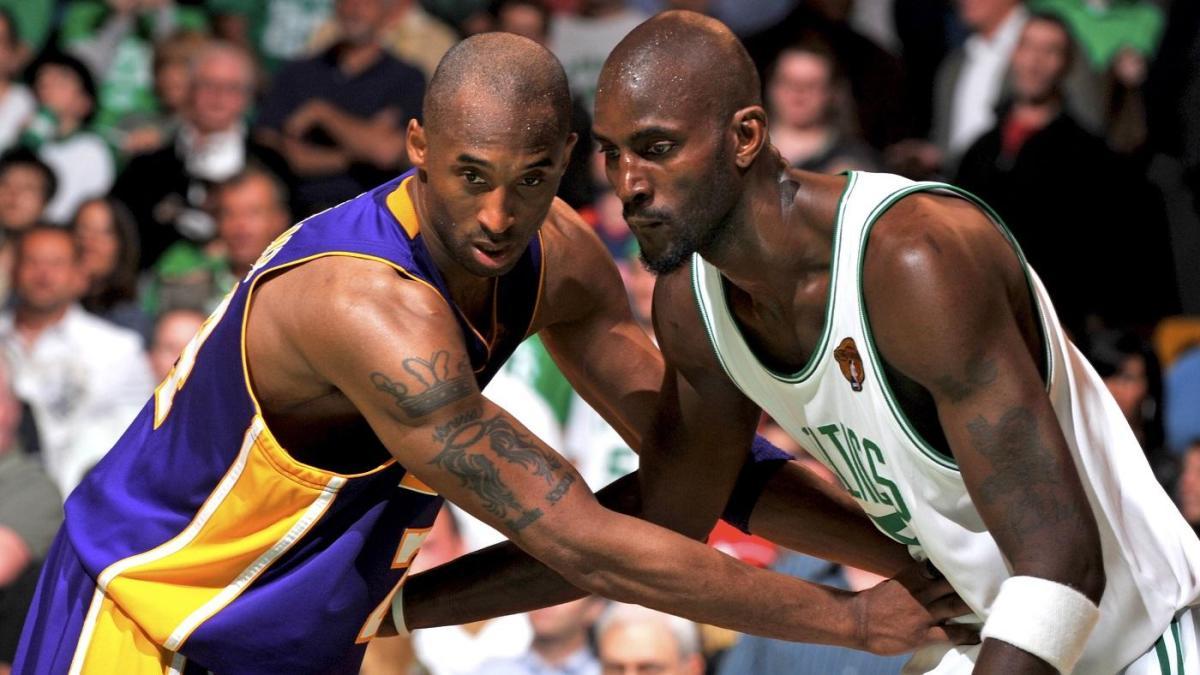 Kobe Bryant e Kevin Garnett