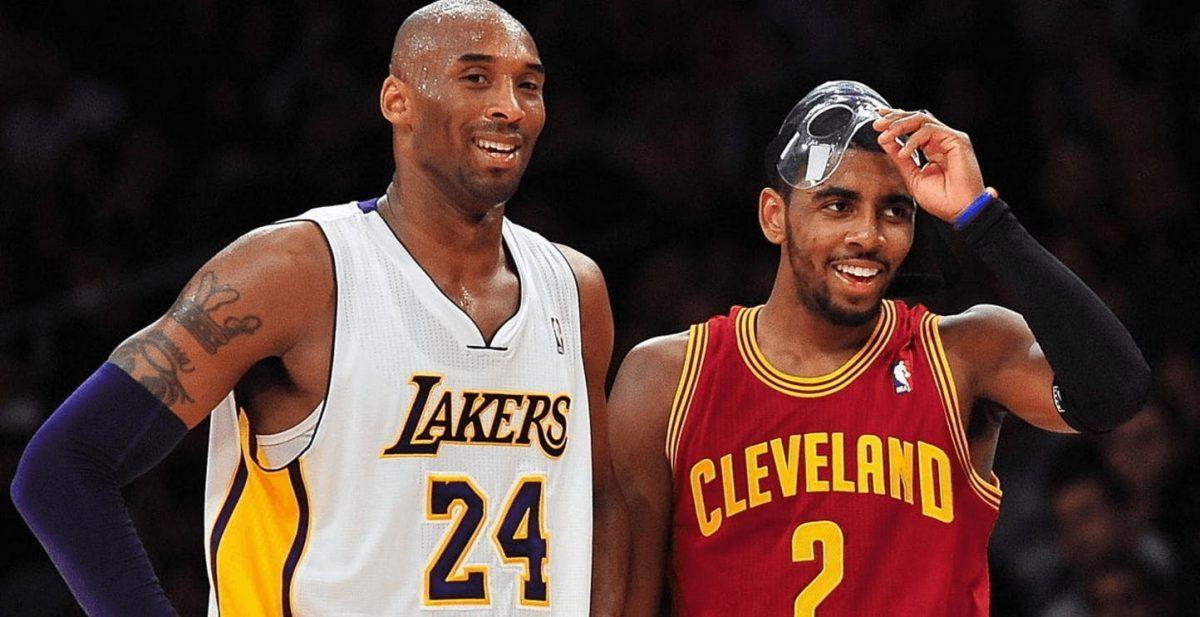 Kobe Bryant e Kyrie Irving