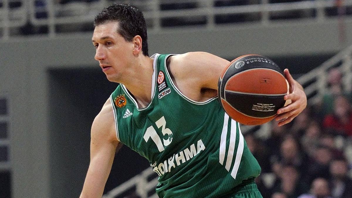 Dimitris Diamantidis in maglia Pana