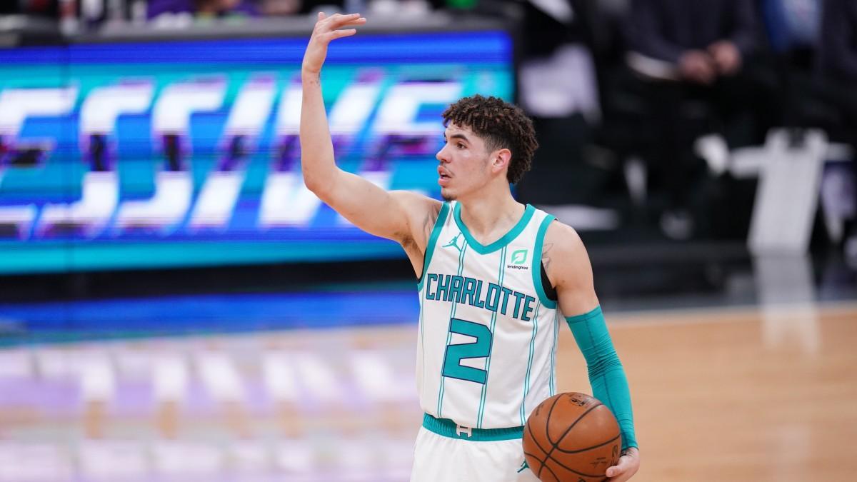 LaMelo Ball guida il gioco dei Charlotte Hornets