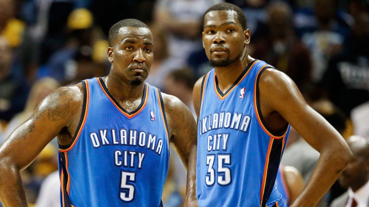 Durant e Perkins a Oklahoma City Thunder