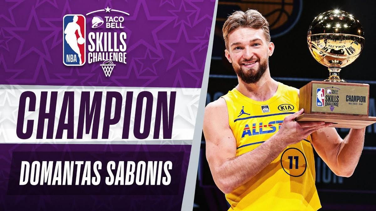 Sabonis dopo la vittoria dello Skill Challenge