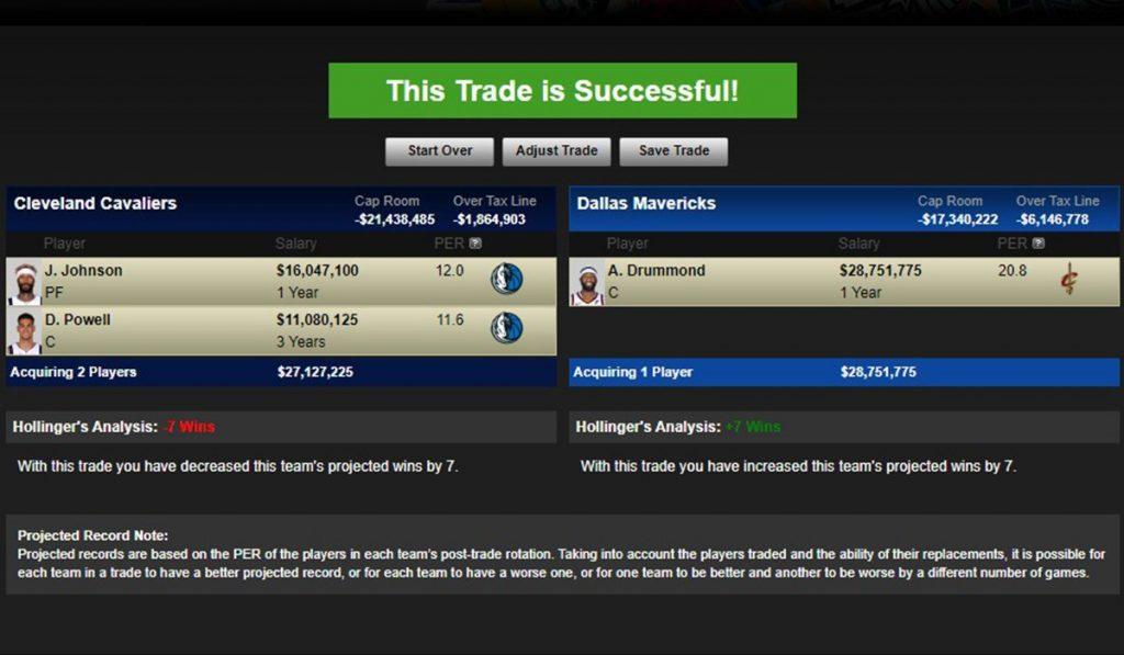 Trade per Drummond ai Mavs