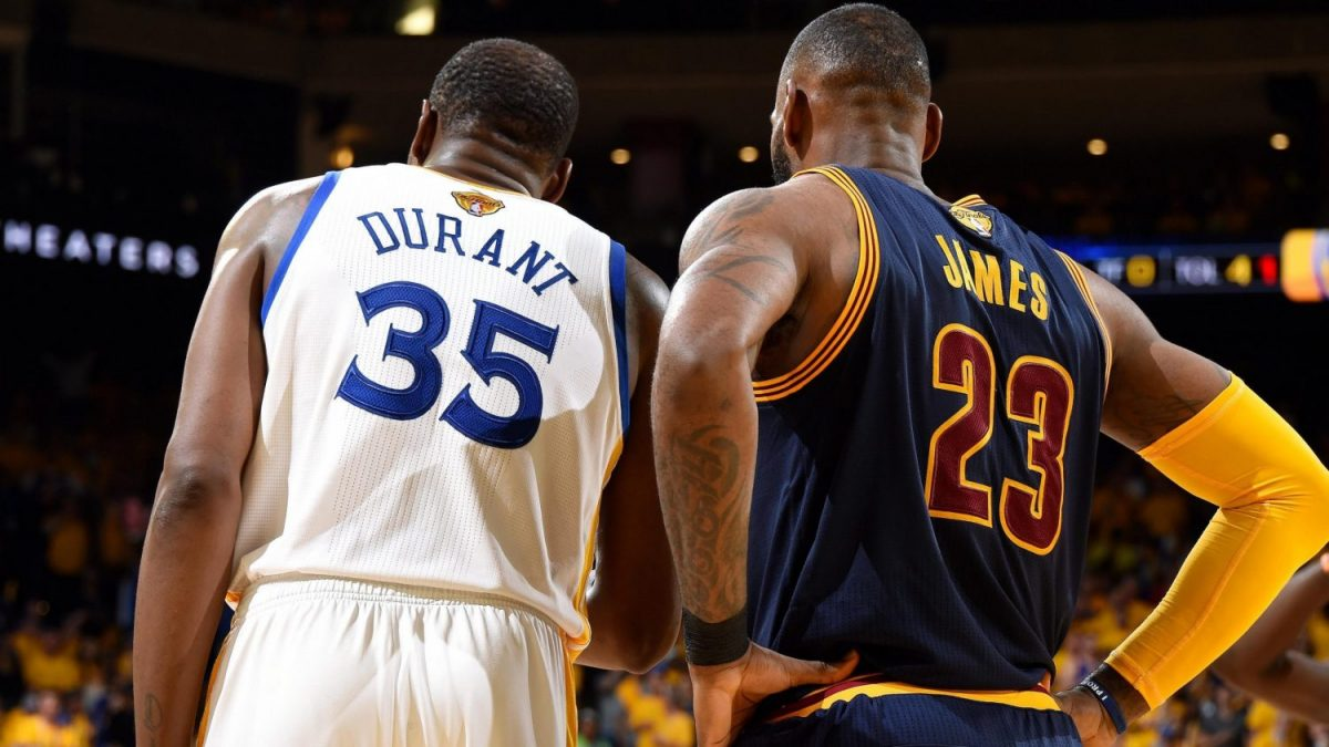Kevin Durant e LeBron James