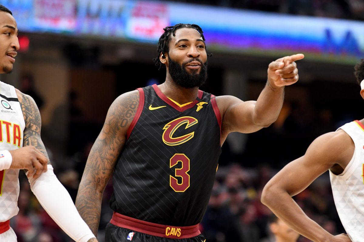 Drummond in azione coi Cavaliers