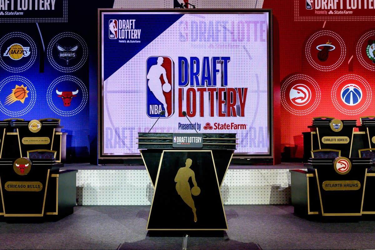 Il podio del Draft NBA