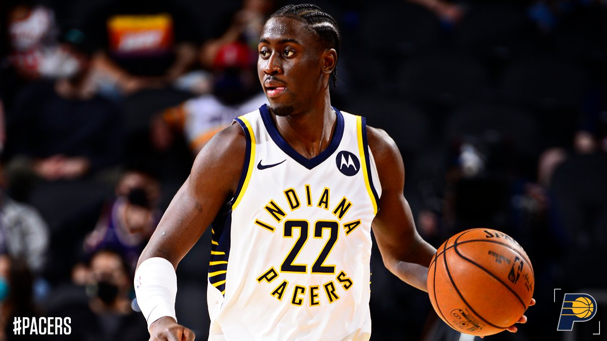 Caris Levert in maglia Indiana Pacers