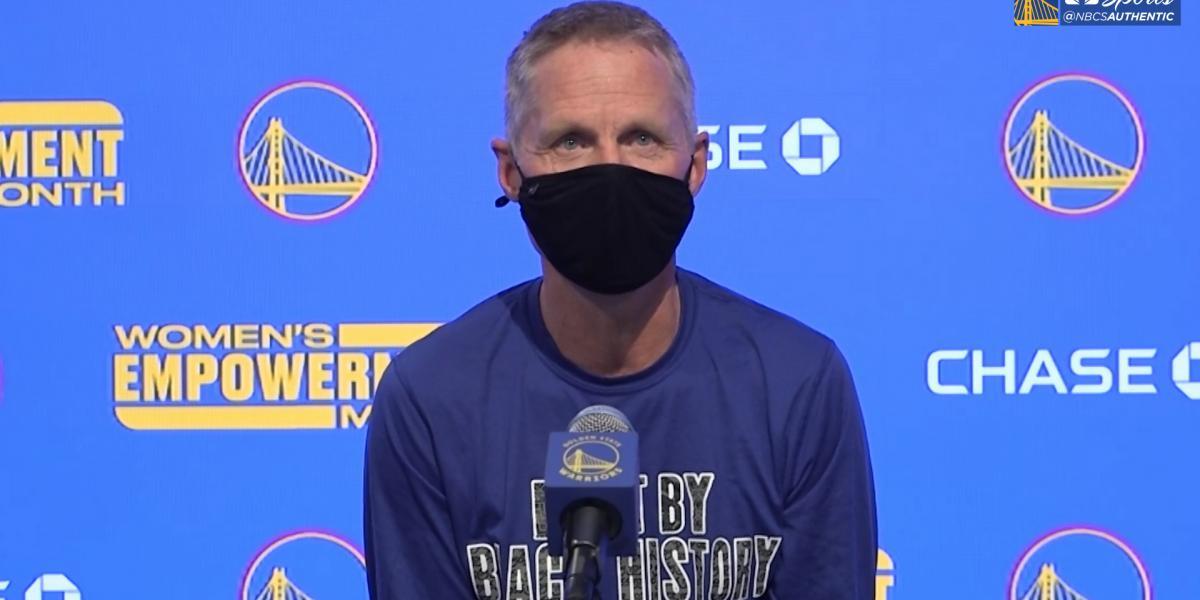 Steve Kerr in conferenza stampa