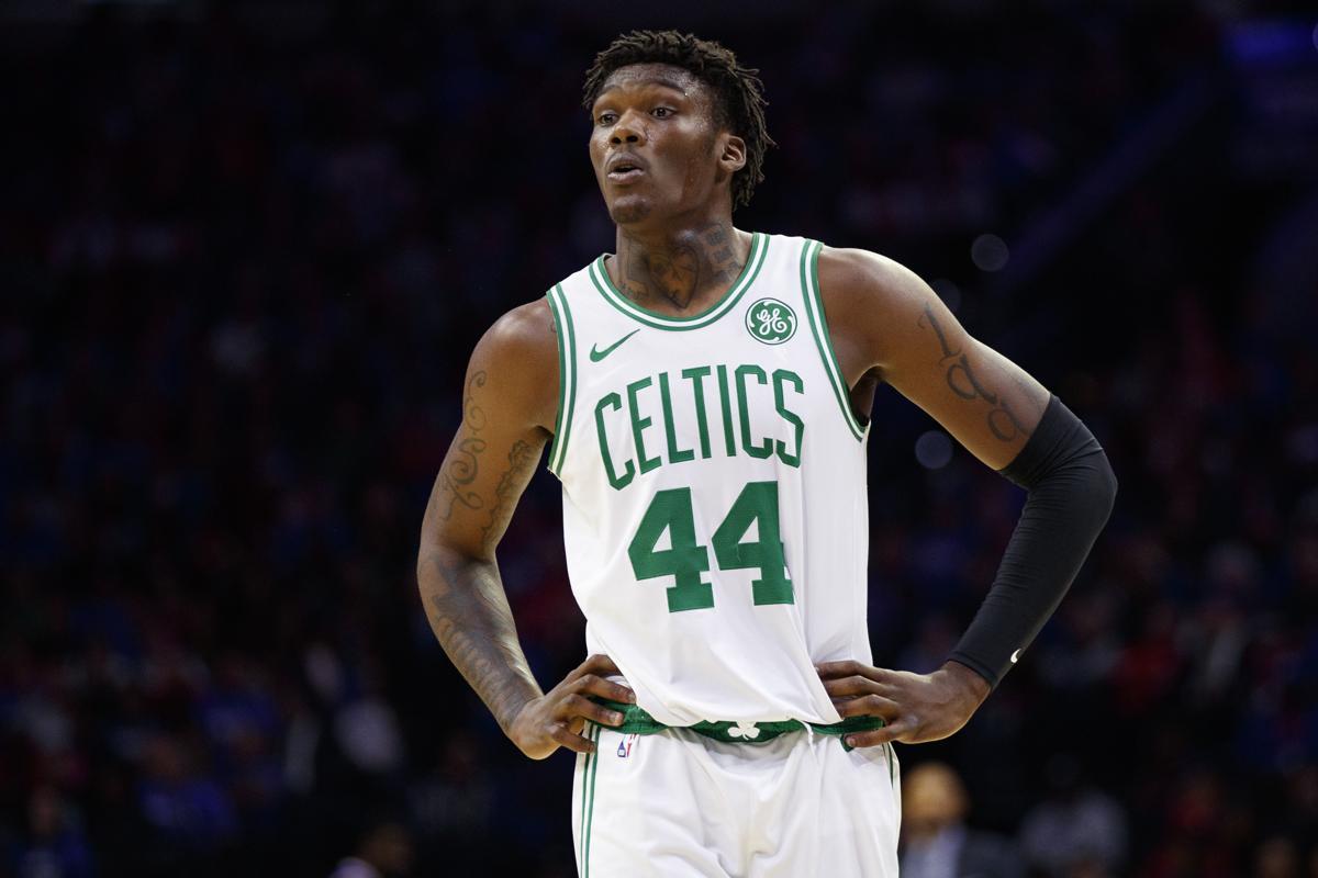 Williams III in azione con i Celtics