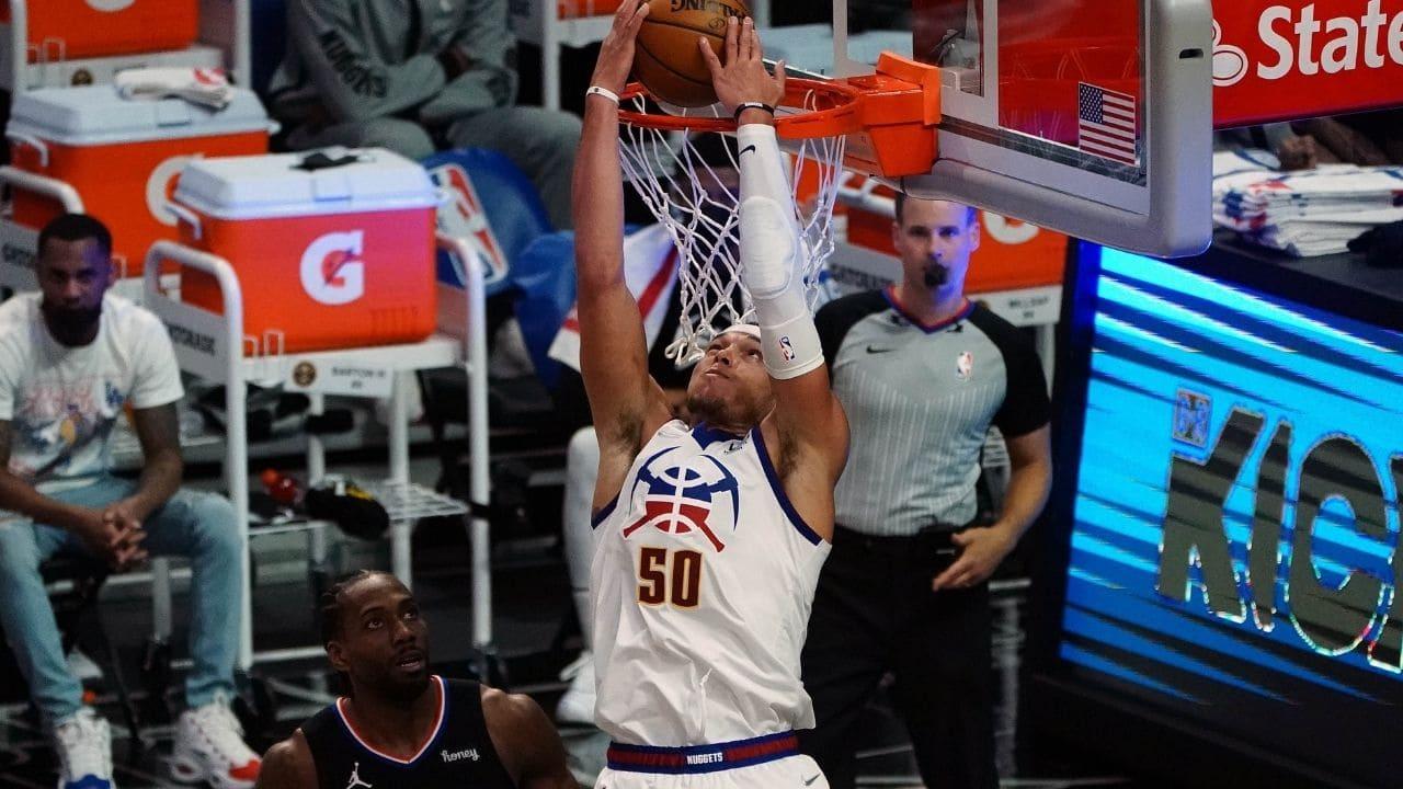 Aaron Gordon in schiacciata contro i Clippers