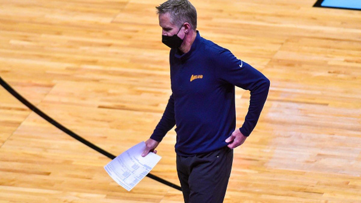 Steve Kerr contro i Toronto Raptors