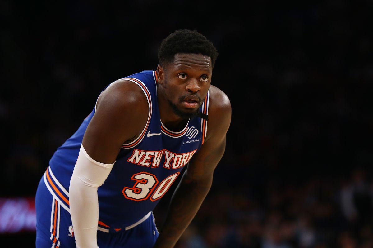 Randle in azione con i Knicks
