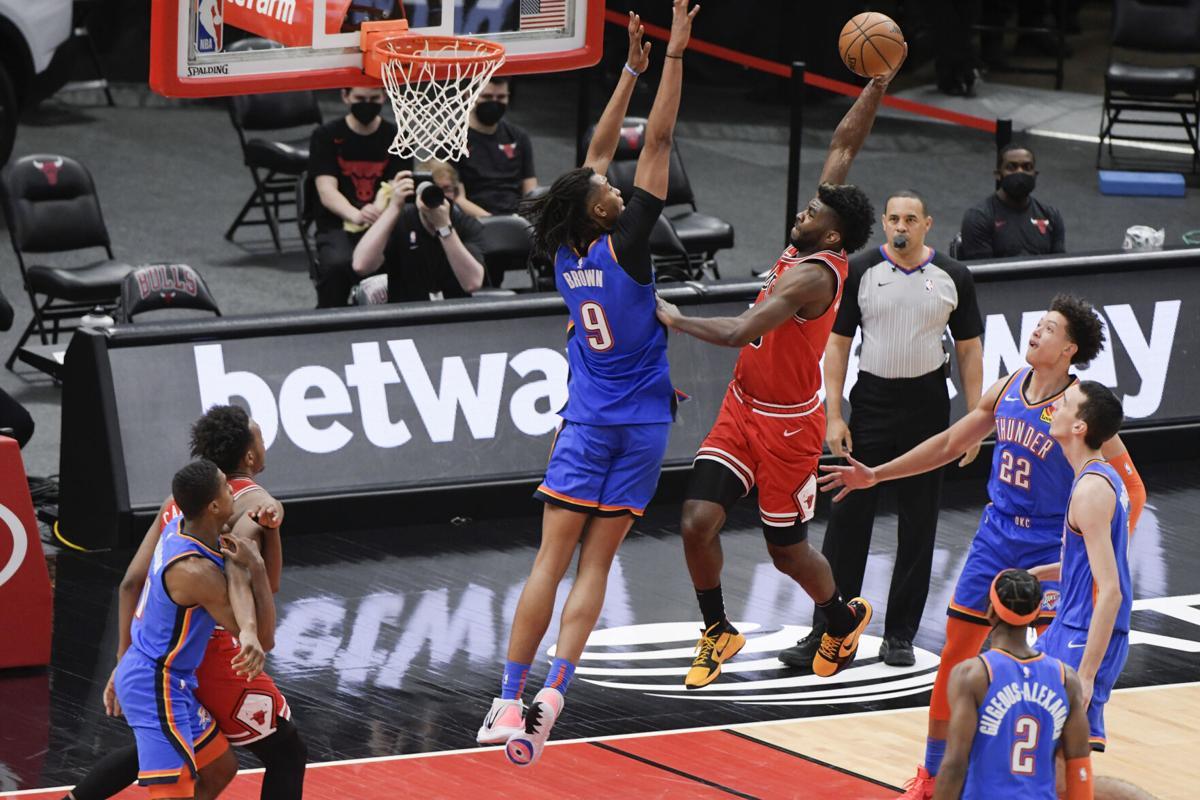 Brown in azione con i Thunder