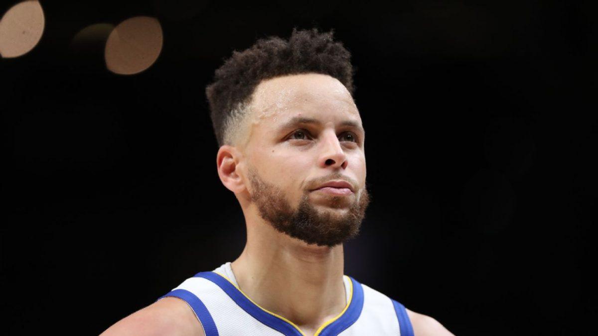 Stephen Curry alla guida dei suoi Warriors