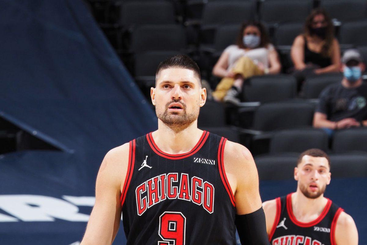 Nikola Vucevic e Zach LaVine contro i Pacers