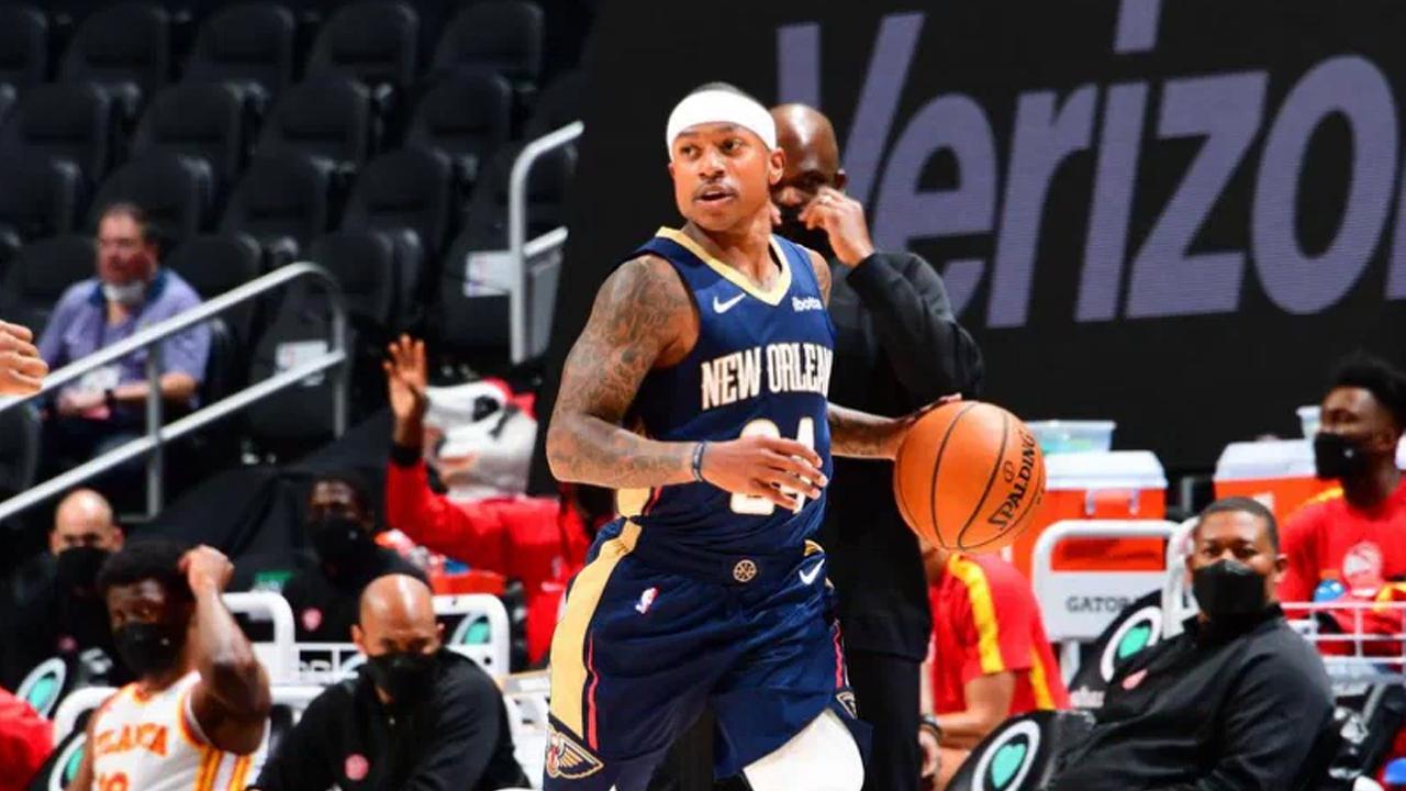 Isaiah Thomas con la maglia dei Pelicans